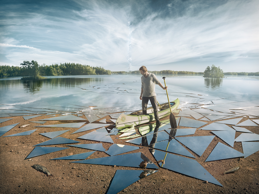 A Photographer's Digital Journey to Produce a Lake of Shattered Mirrors | Colossal