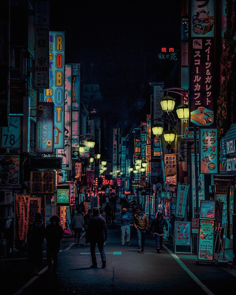 The Neon Glow of Tokyo and London's Nightlife Captured by Liam Wong | Colossal