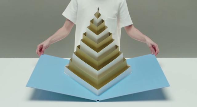 A Sculptural Geometric Pop-Up Book By Tauba Auerbach