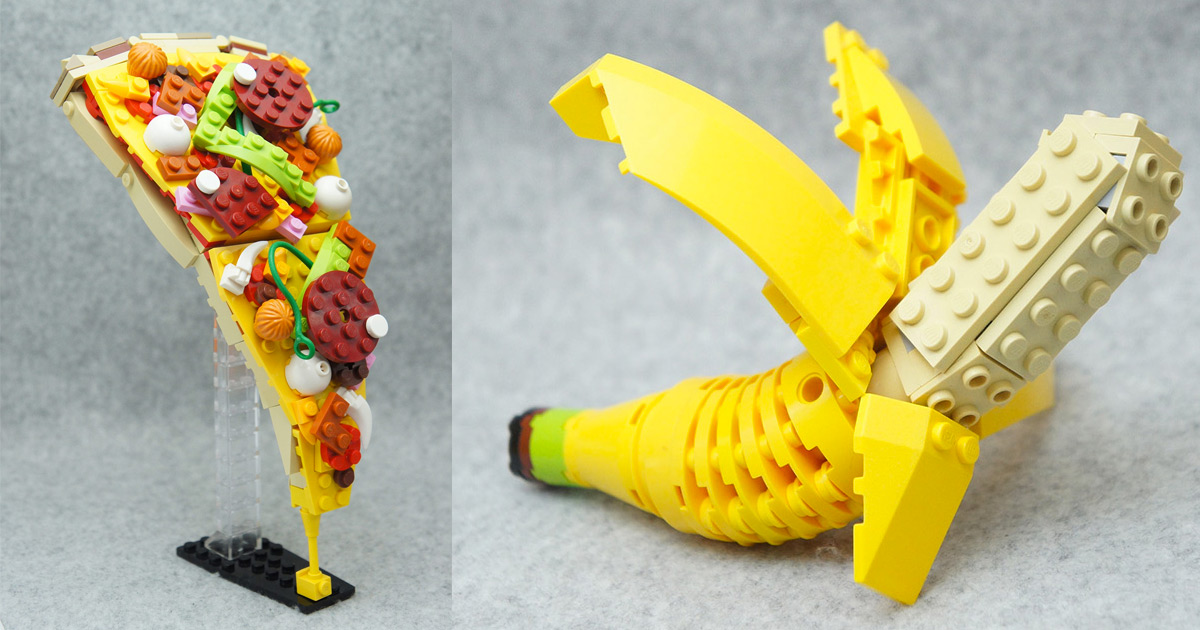Japanese Lego Master Builds Delicious Looking Creations
