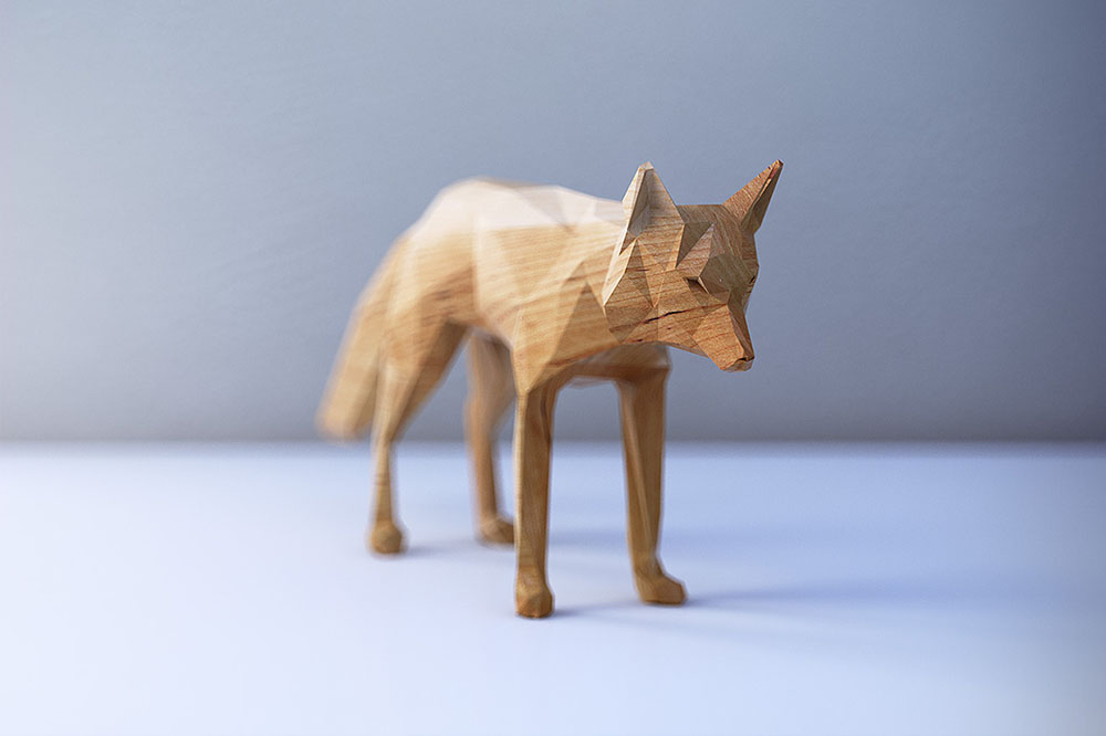 PolyWood Toy Animal Concepts Rendered In Polygons By Mat Szulik