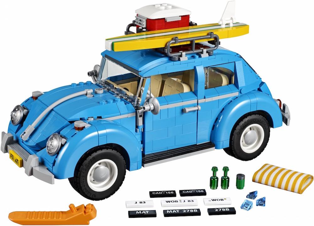 Lego Designs A Vintage 1960 S Volkswagen Beetle Fully