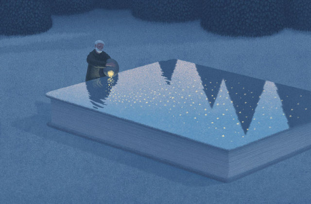 Dreamy Illustrations for Book Lovers by Jungho Lee