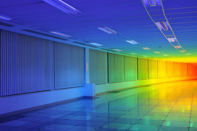 Artist Liz West Captures a Rainbow Inside the Bristol Biennial