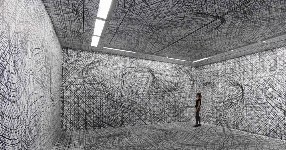 Galerie im Taxispalais, Innsbruck, 2014. Photo by Atelier Kogler.