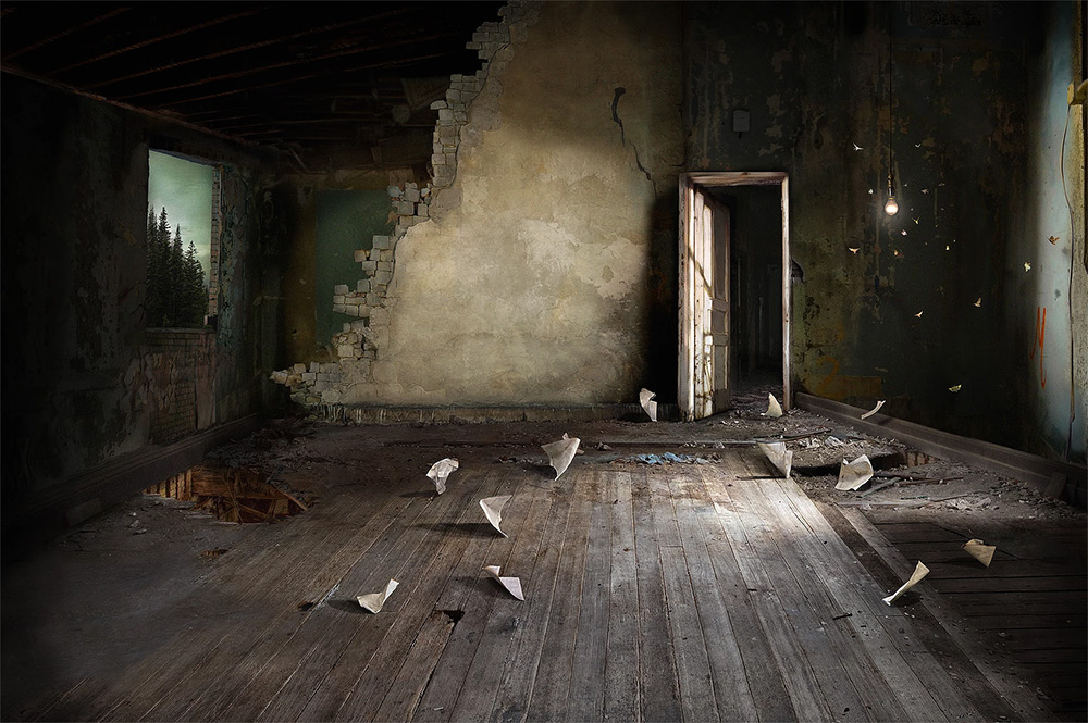 Photomontage images of Suzanne Moxhay #artpeople