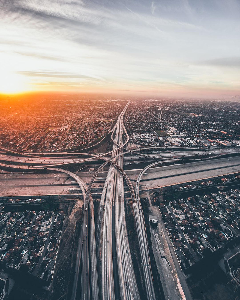 Sky-High Images of Los Angeles by Dylan Schwartz