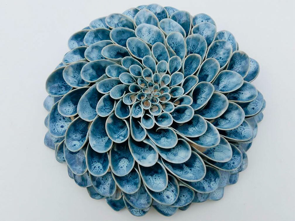 Handmade Ceramic Blooms And Succulents By Owen Mann Colossal