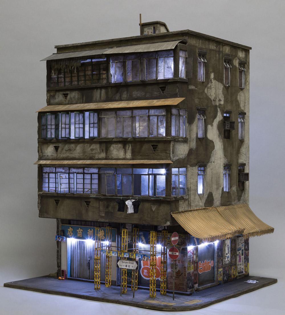 Miniature Displays of Contemporary Urban Buildings by Joshua Smith Artes & contextos Joshua 11
