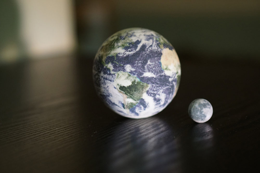 3d Printed Solar Systems Moons And Planets For Your