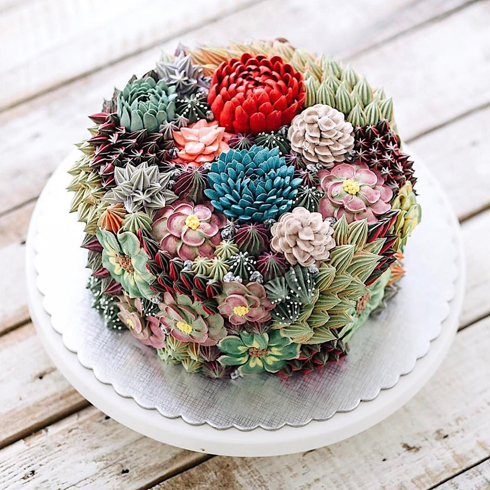 Amazing terrarium and flower cakes created by iven kawi colossal christopher jobson izmirmasajfo
