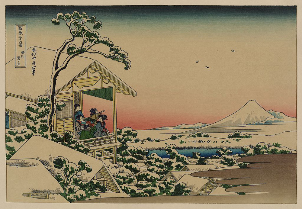 Images of Vibrant Japanese Woodblock