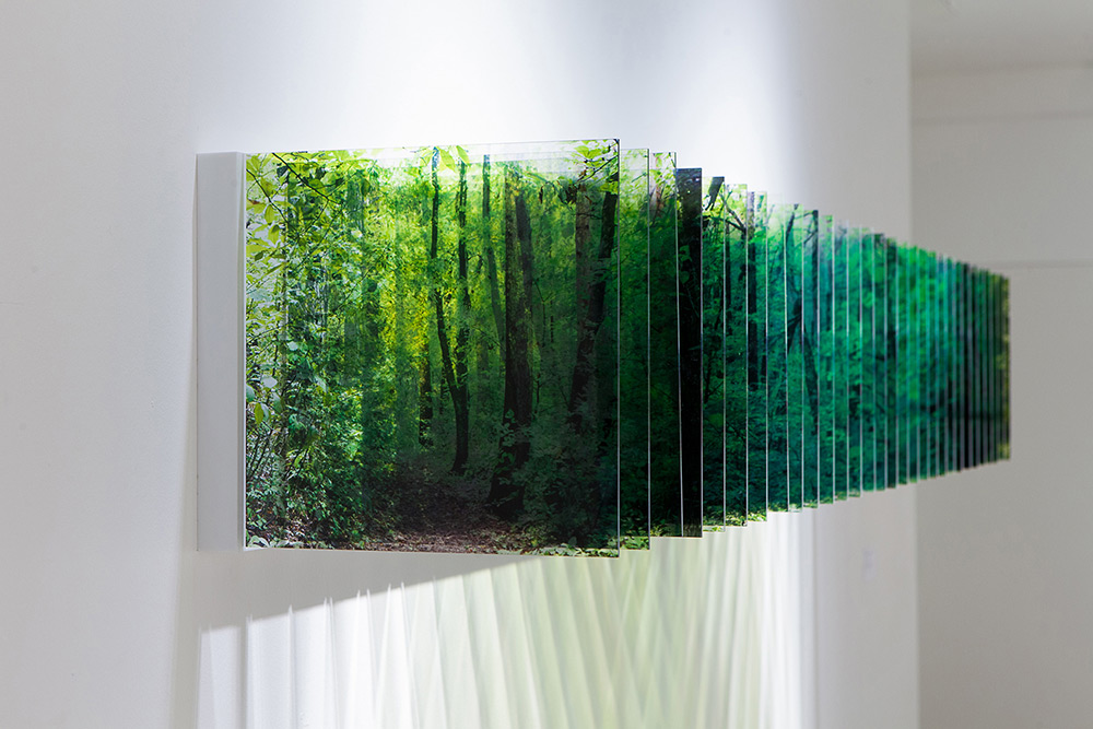 Three-Dimensional Landscapes Formed with Layered Acrylic Photographs by Nobuhiro Nakanishi | Colossal