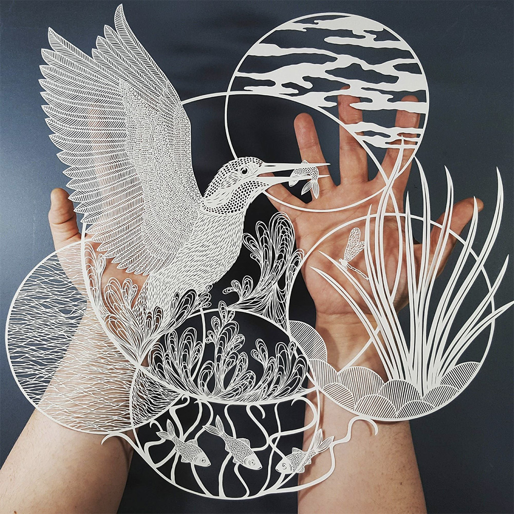 Superb Cut Paper Artworks by Pippa Dyrlaga | Colossal