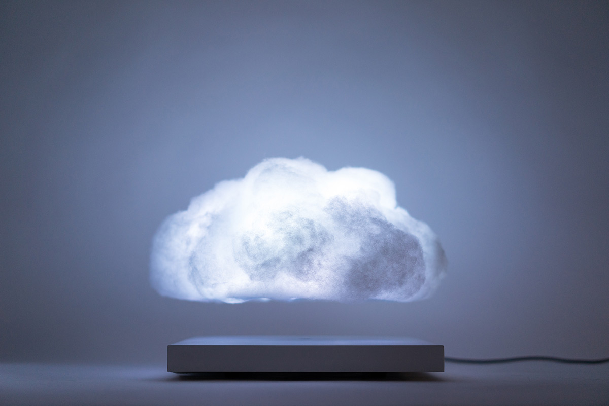 Floating Cloud Bed Kinetic Colossal