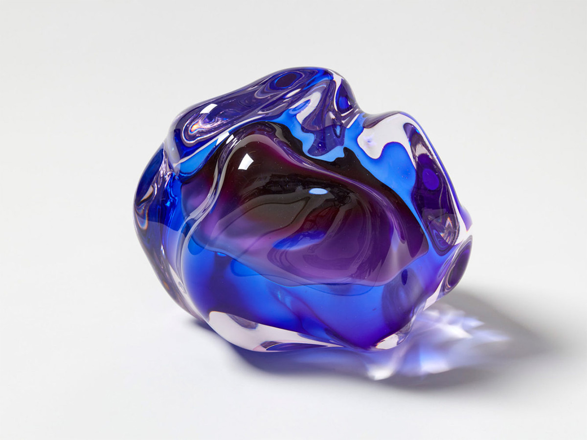 Fluid Rocks: Artist Flavie Audi Forms Gem-Like Sculptures from Glass