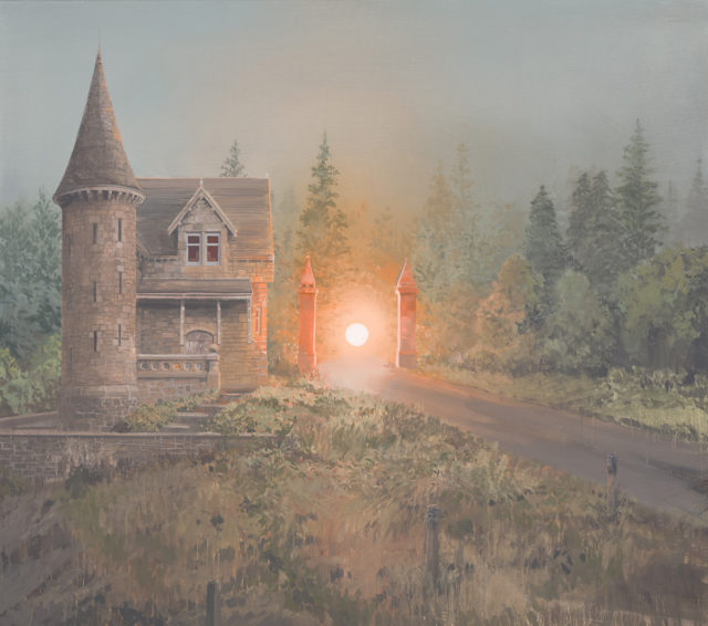 Vibrant Sunsets Hover Inside Abandoned Scottish Castles and Homes by Andrew McIntosh