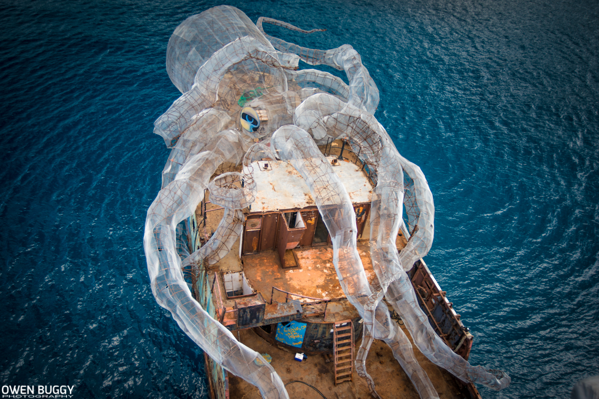 An 80 Foot Steel Kraken Will Create An Artificial Coral