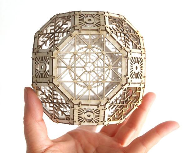 Great Rhombicuboctahedron Model Kit
