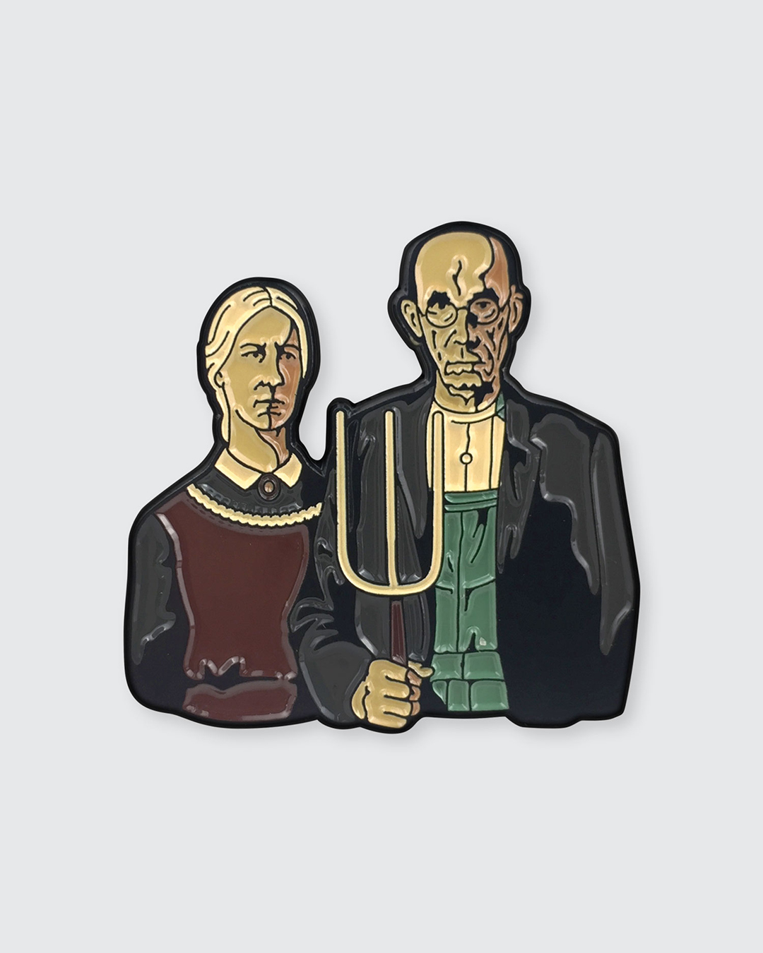 Art Enamel Pins Inspired by the Masters | Colossal