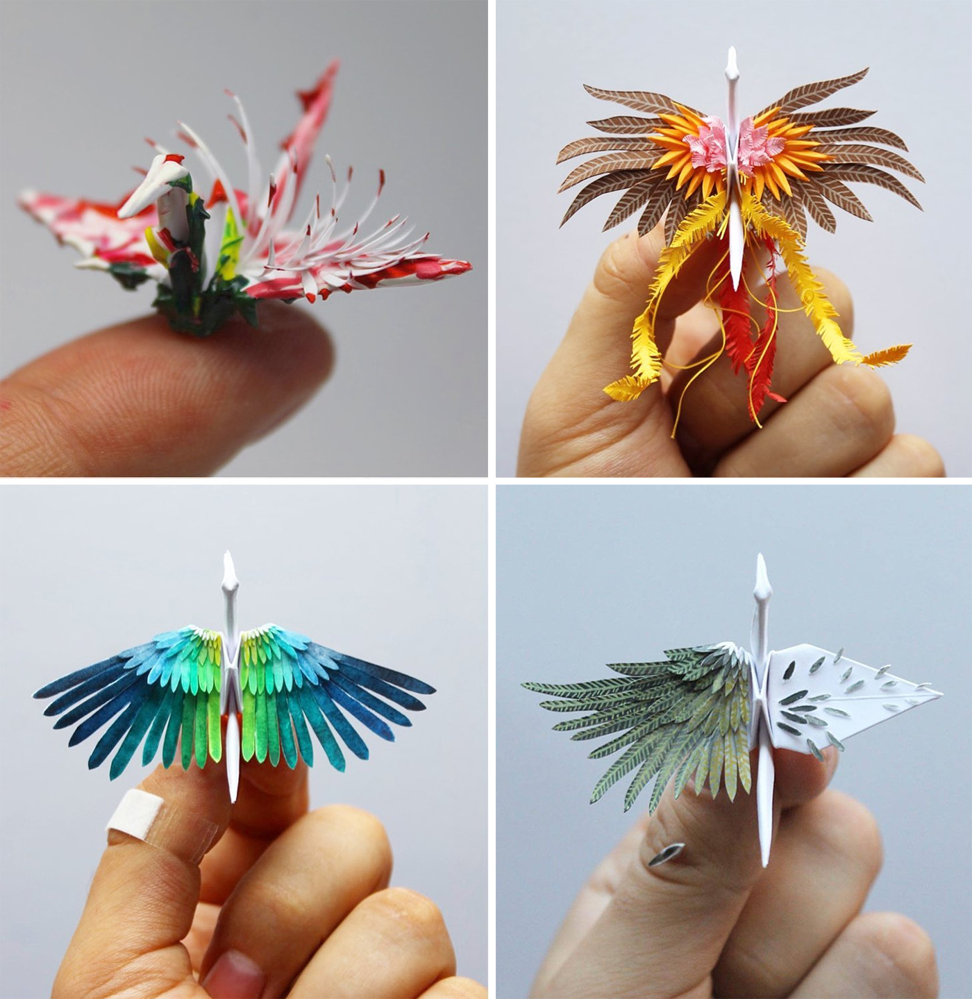 MQQ Crafts - Top 10 Origami Easy Paper Flower - Paper Craft Ideas ... | 1439x1400