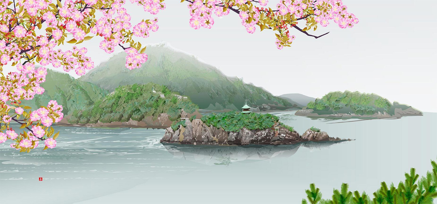 Meet Tatsuo Horiuchi, the 77-Year-Old Artist Who 'Paints' Japanese Landscapes With Excel