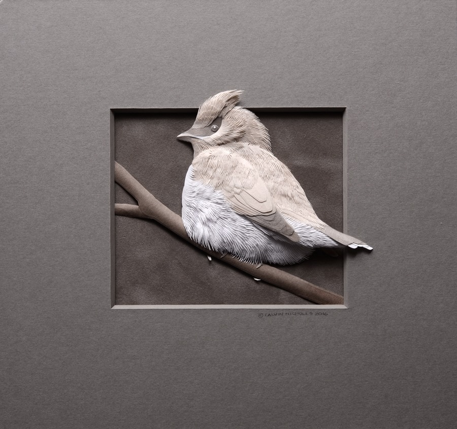 how are paper sculptures made