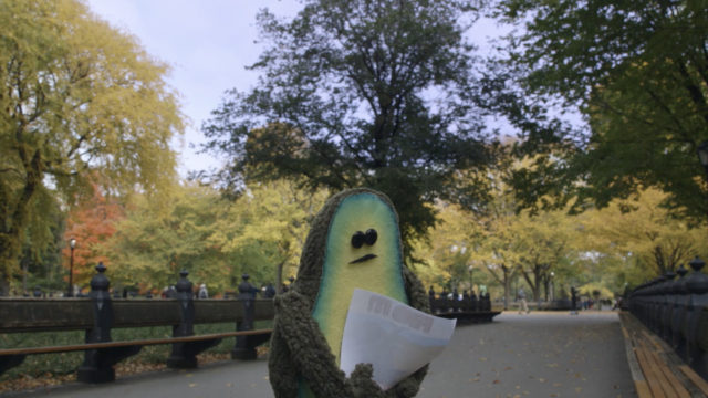 The Pits: An Endearing Short Film Follows a Lonely Avocado Searching NYC for its Other Half