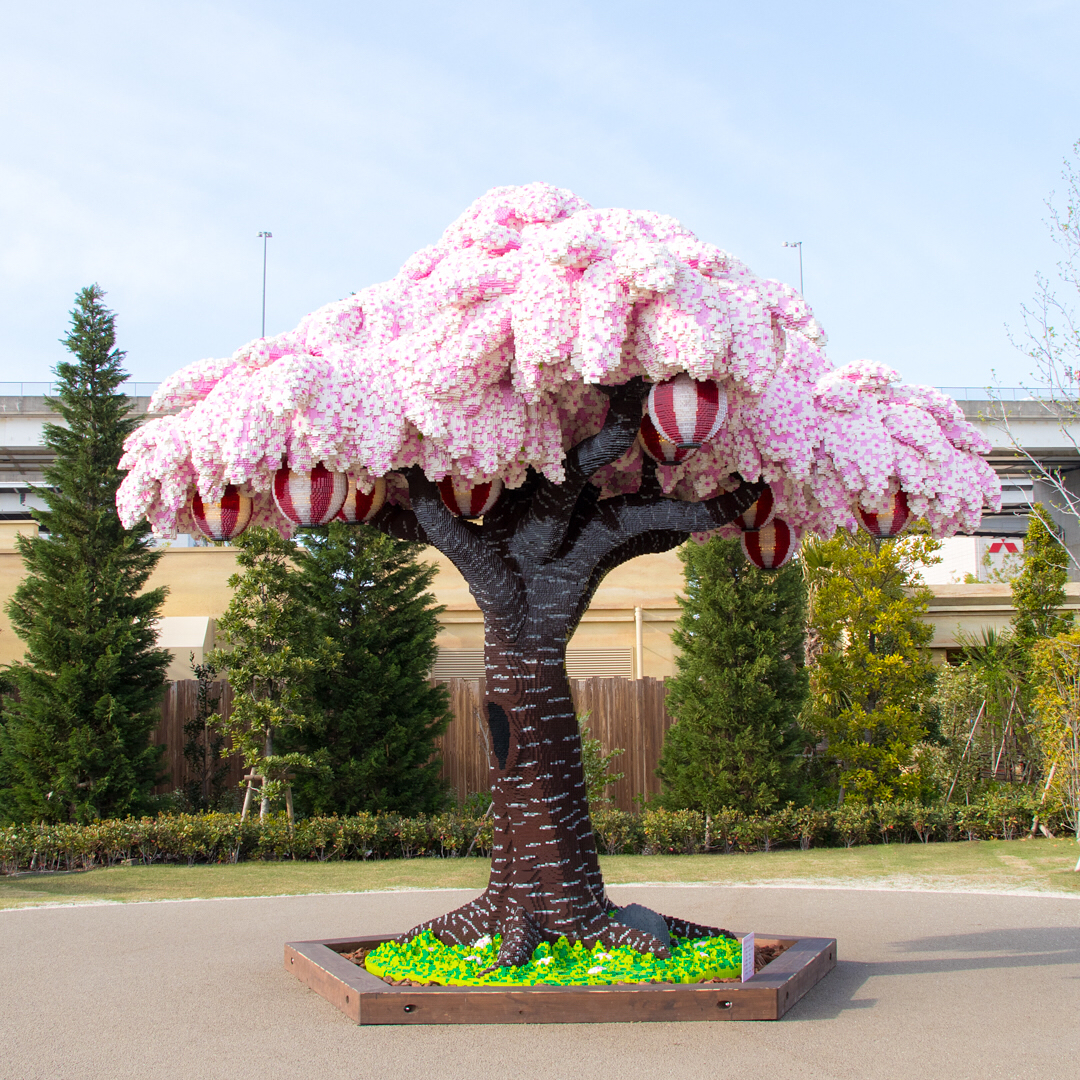 The Worlds Largest Lego Cherry Blossom Tree Blooms In Japan Colossal