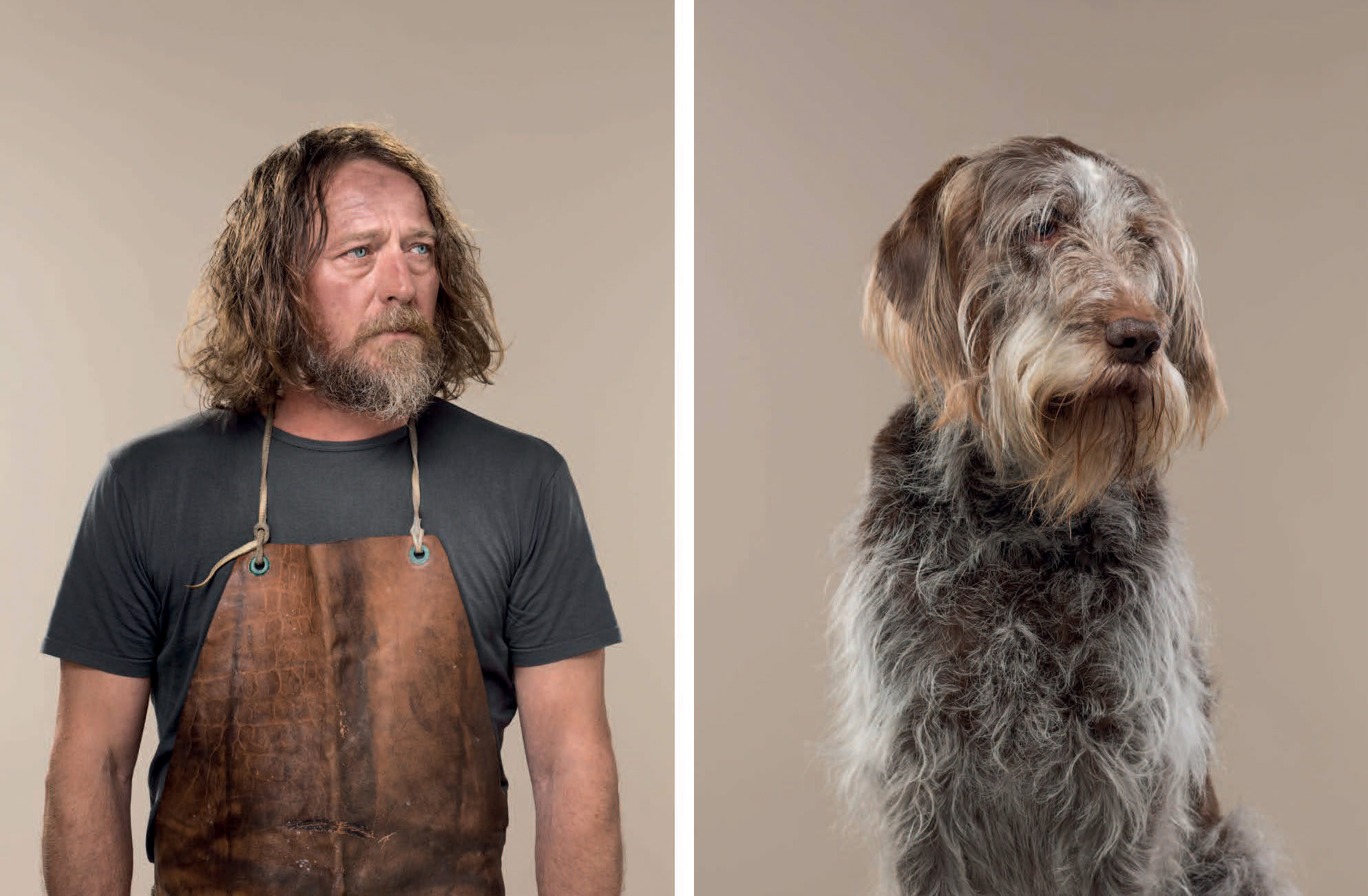 Uncanny Resemblances Between Classic Dog Breeds and Humans Captured by Gerrard Gethings | Colossal