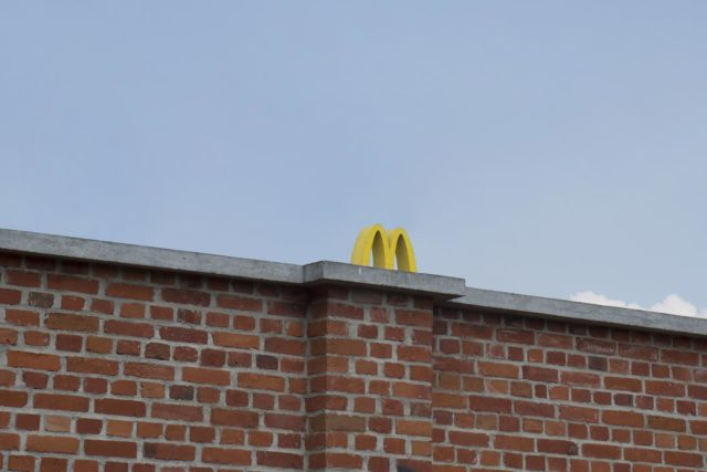Partially Obscured Golden Arches Photographed Throughout Warsaw by Zuzanna Szarek