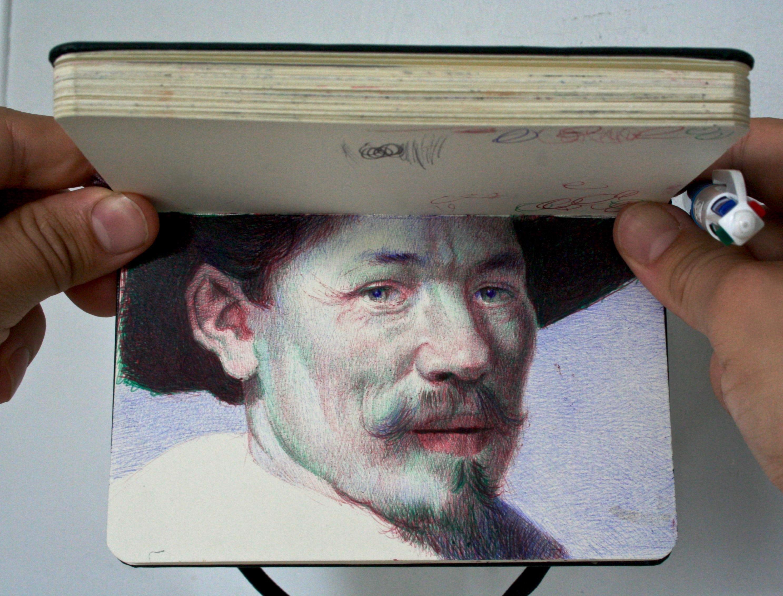 Sketchbook by Nicolas V. Sanchez