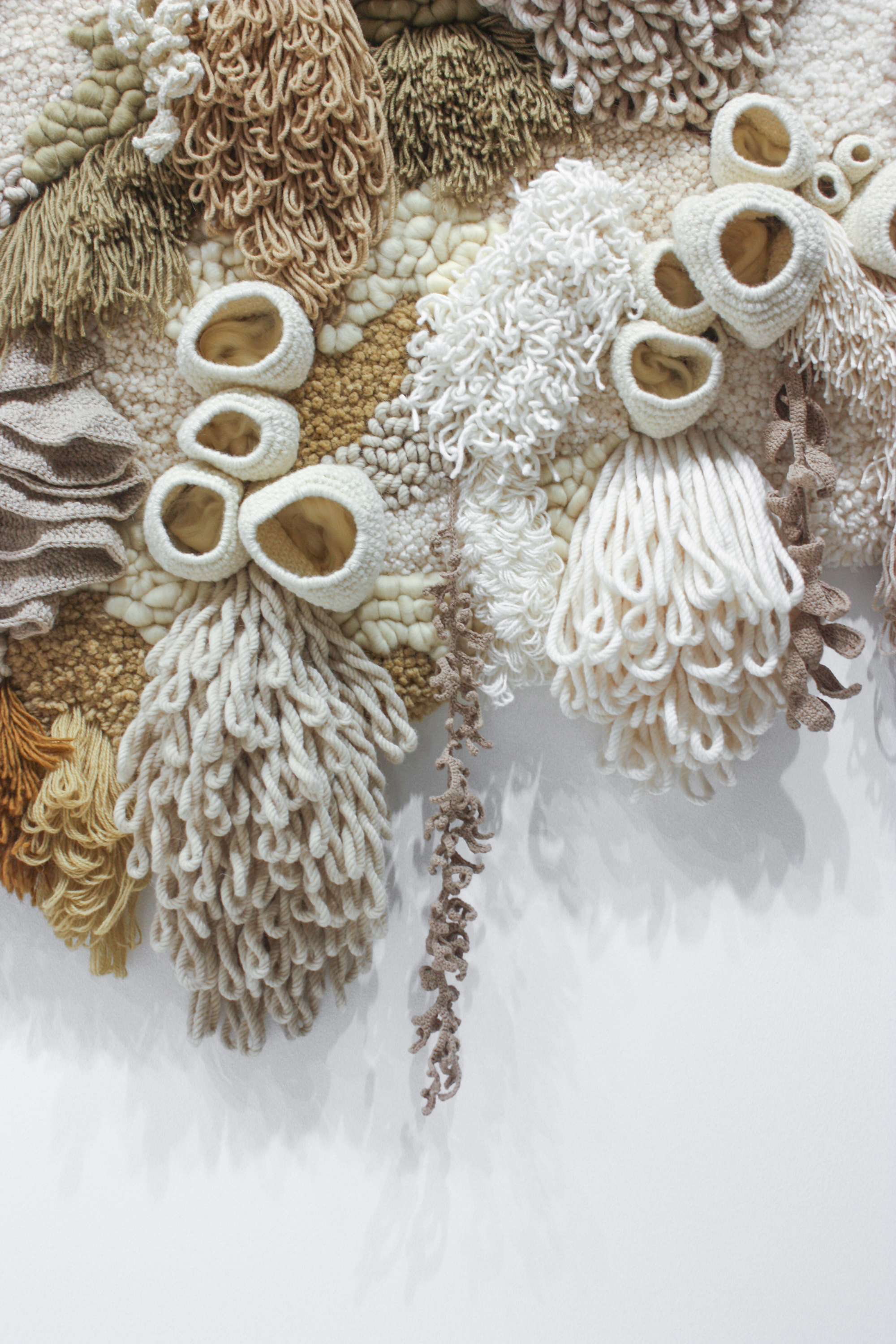 Deadstock Rug Materials Transformed into an Immersive Coral Garden by Vanessa Barragão | Colossal
