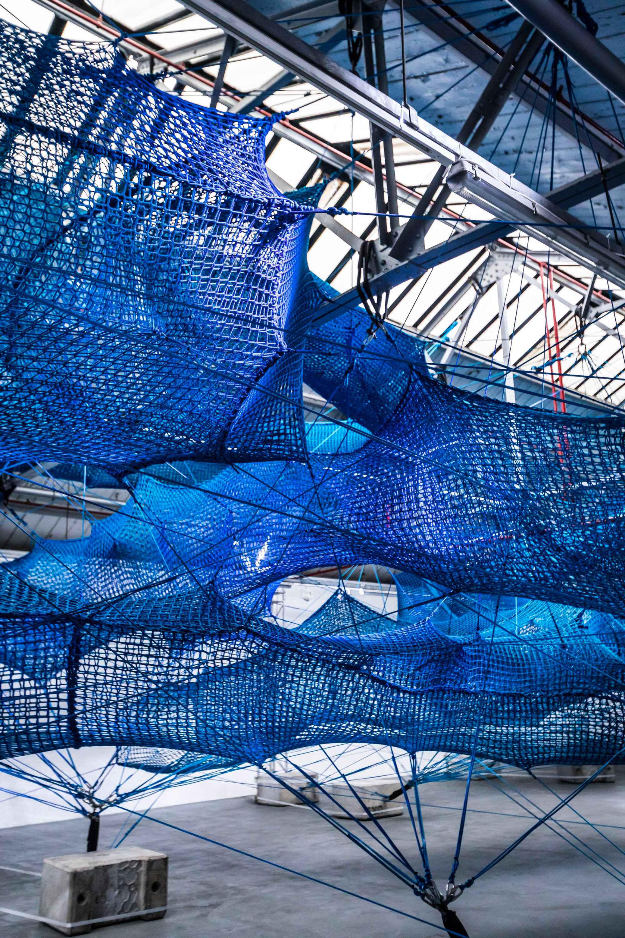 'The Weaving Project' Invites Visitors to Climb Inside a Massive Installation Formed From Nearly 10,000 Feet of Rope | Colossal