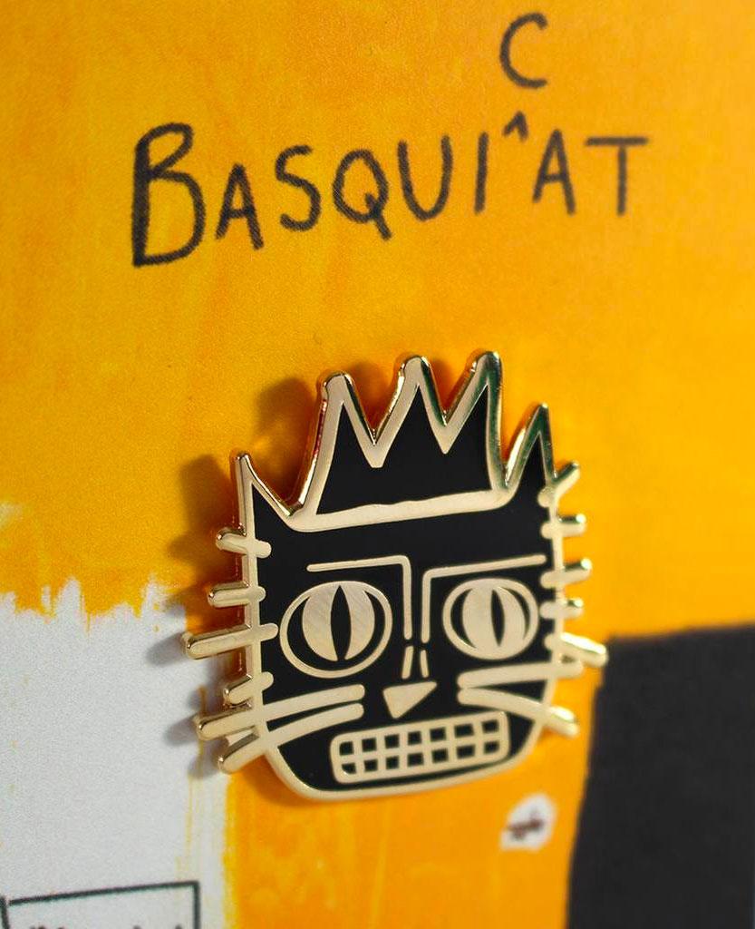 Artist Cat Enamel Pins