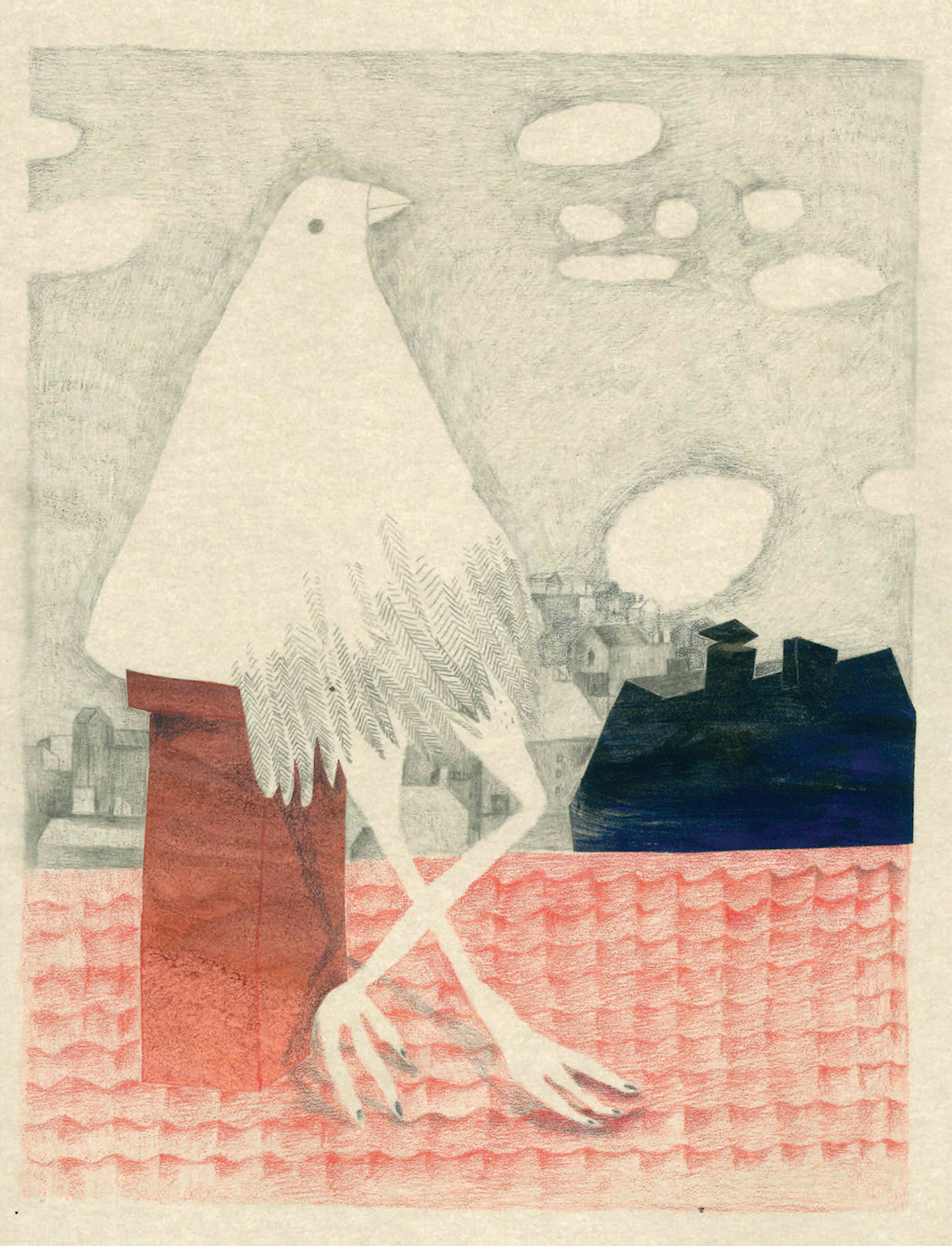 Loneliness and Belonging Explored in a New Children's Book of Poetry and Mixed-Media Illustrations