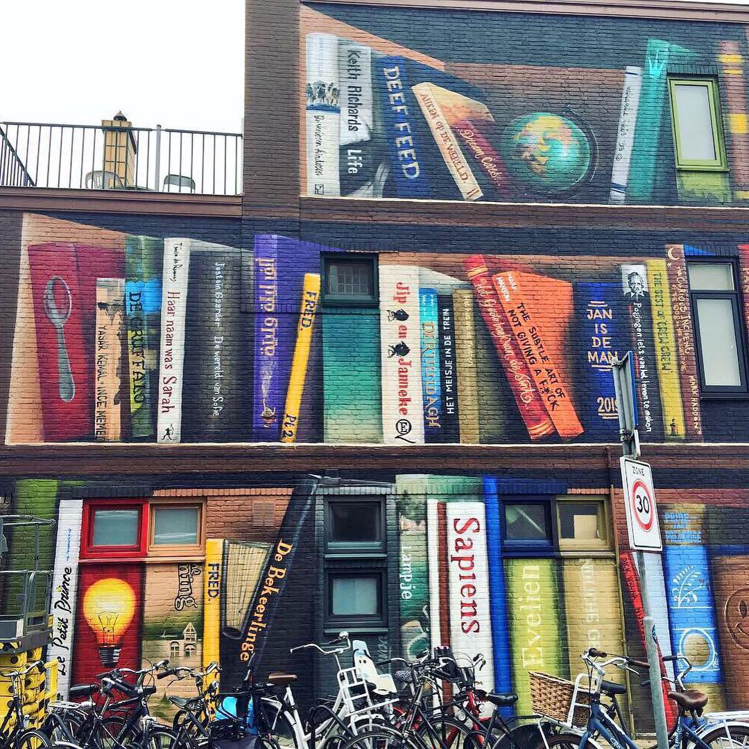 Dutch Artists Transform A Utrecht Apartment Building Into