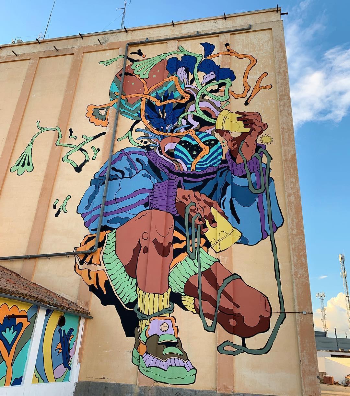 Mural by Bicicleta sem Freio
