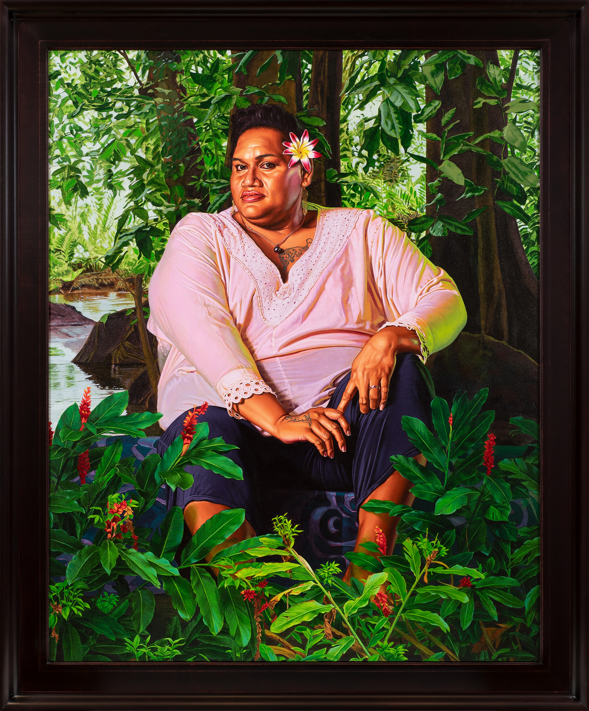 Detailed Portraits of Tahiti's Third Gender by Kehinde Wiley Challenge Gaugin's Problematic Depictions | Colossal