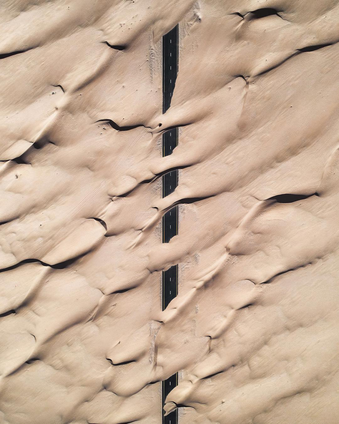 Manmade Patterns and Uncanny Shadows Photographed From Above by JP and Mike Andrews
