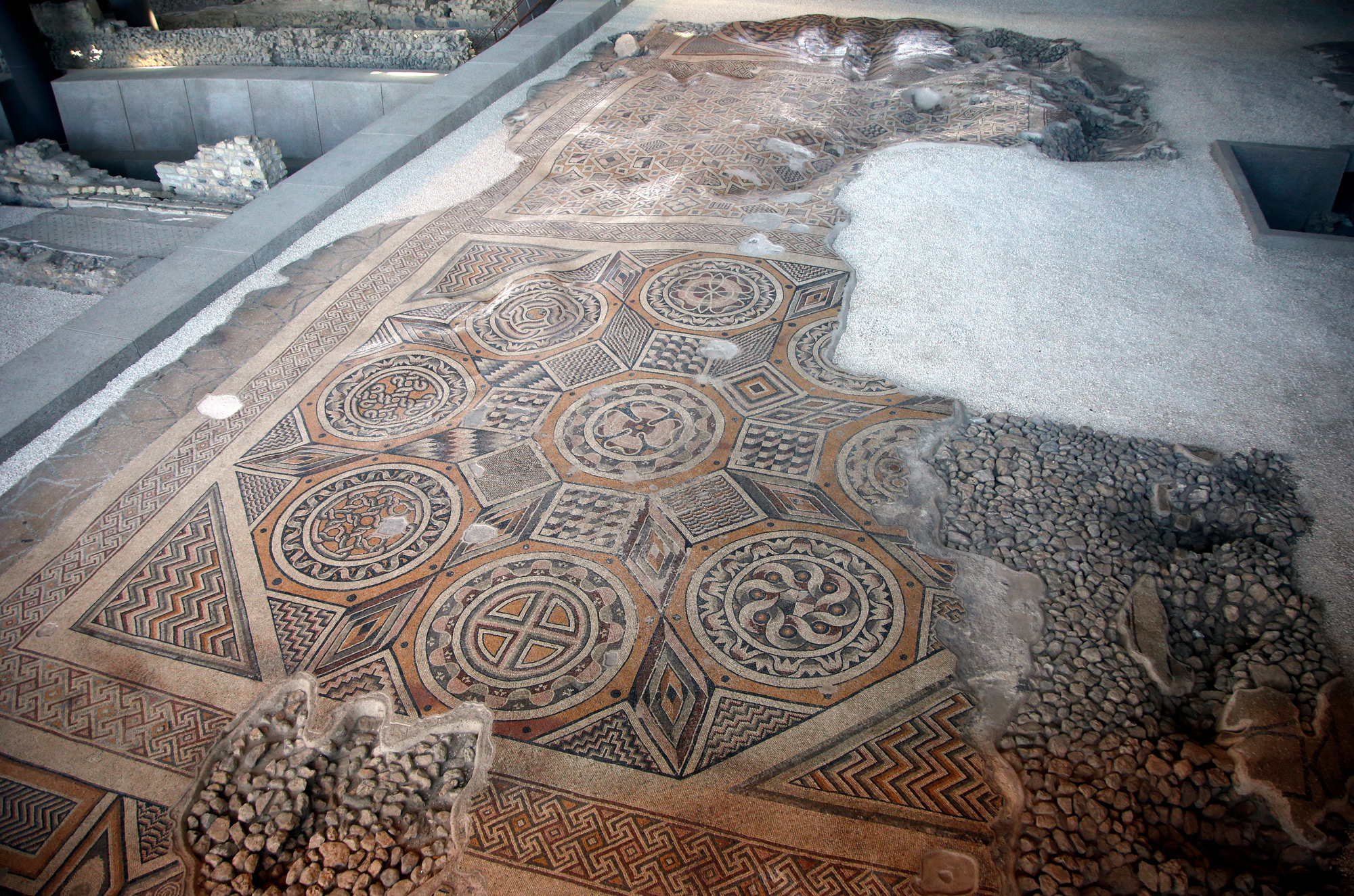 The World's Largest Intact Mosaic Opens to the Public in Antakya, Turkey | Colossal
