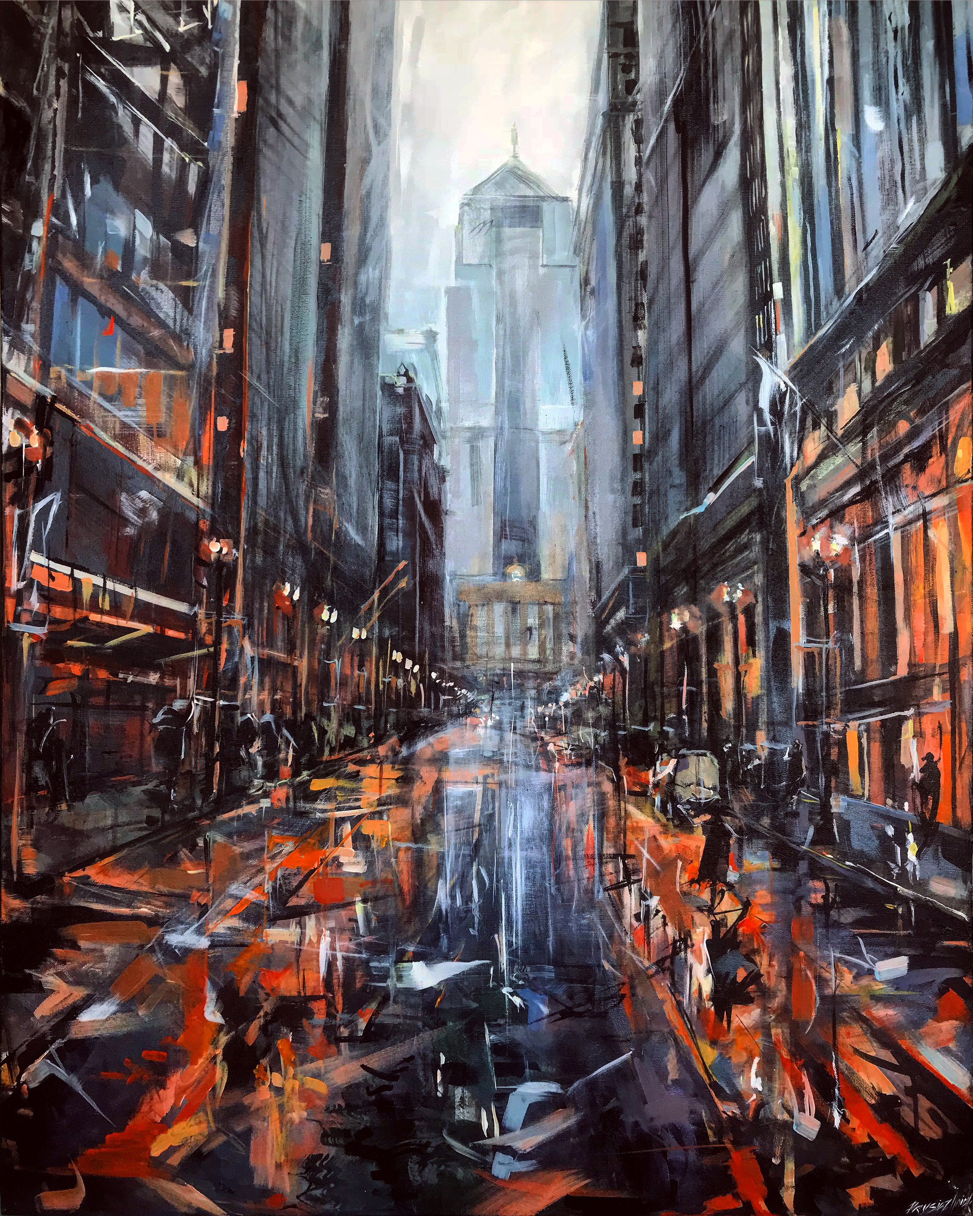 Plein Air Oil Paintings of Chicago Architecture, Parks, and Landmarks by Luna Prysiazhniuk