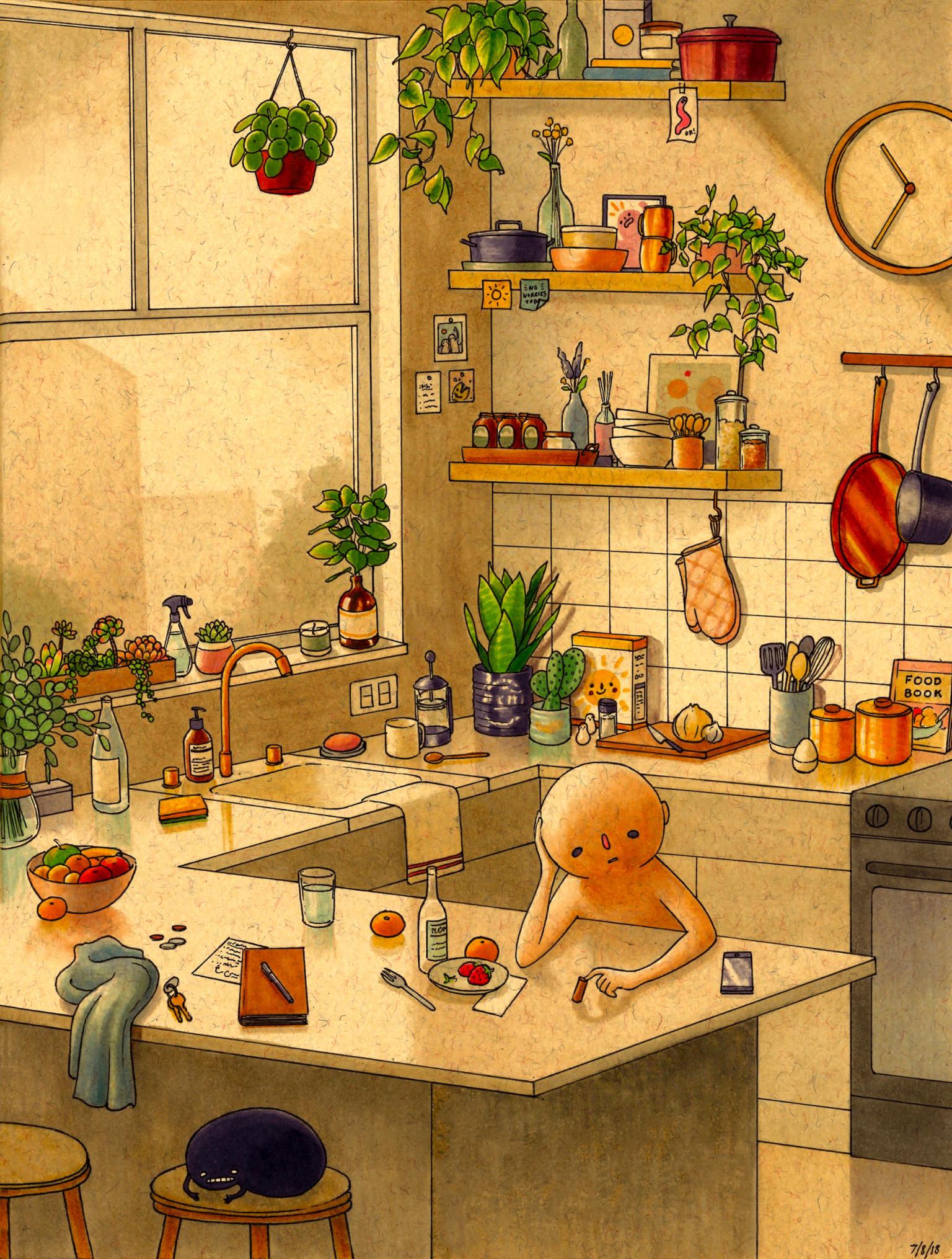 Felicia Chiao: ilustración hermosa e inquietante