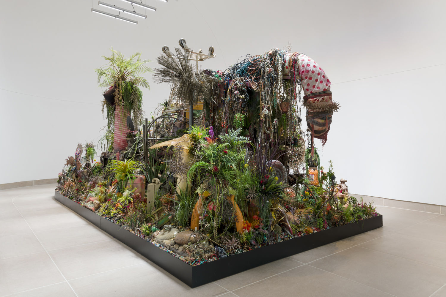 Dense Installations by Max Hooper Schneider Feature Vibrant Landscapes Scattered with Human Objects