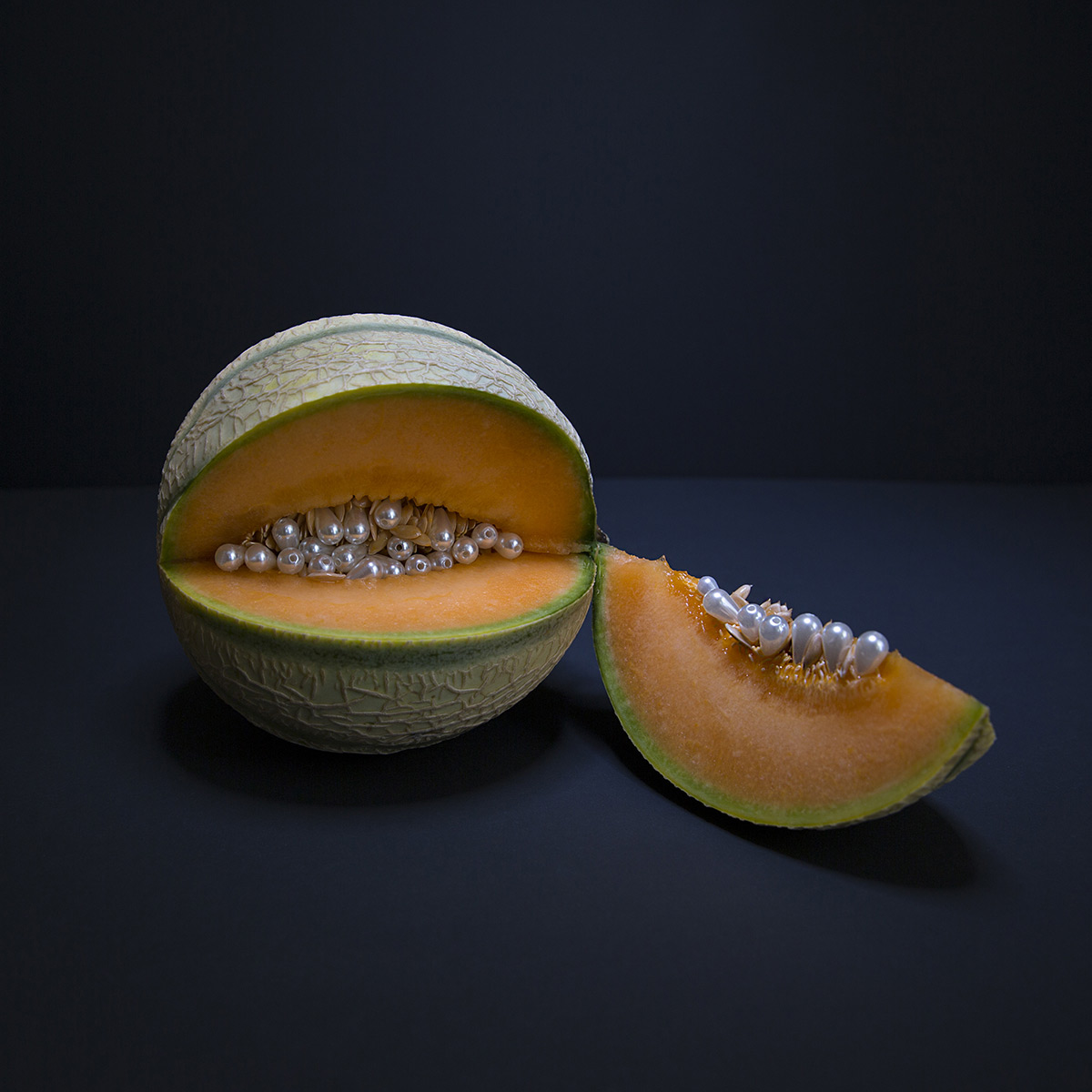 Pearls Puncture and Support Fruit and Vegetables in Photographs by Ana Straže