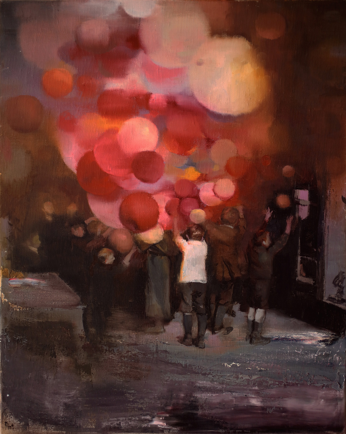 Exploring the Liminal Spaces of Joshua Flint's Surreal Paintings
