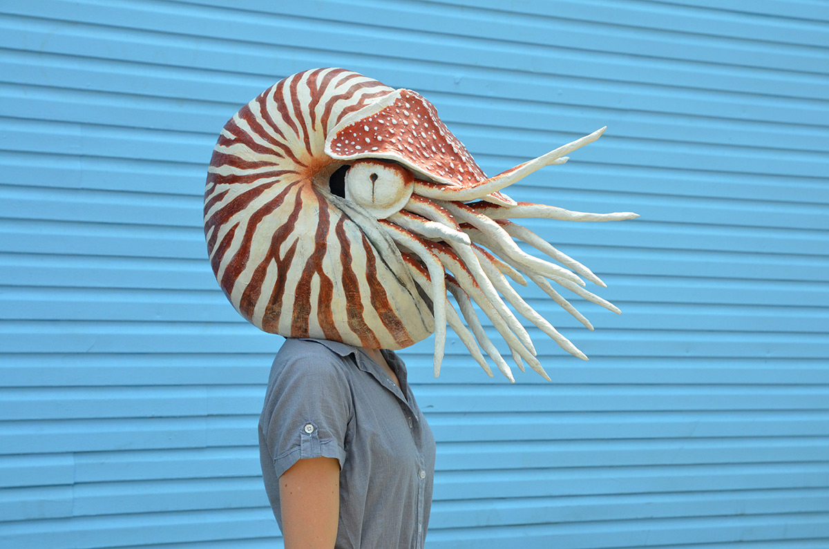 Papier-Mâché Masks Crafted by Liz Sexton Bring Animals to Human Scale