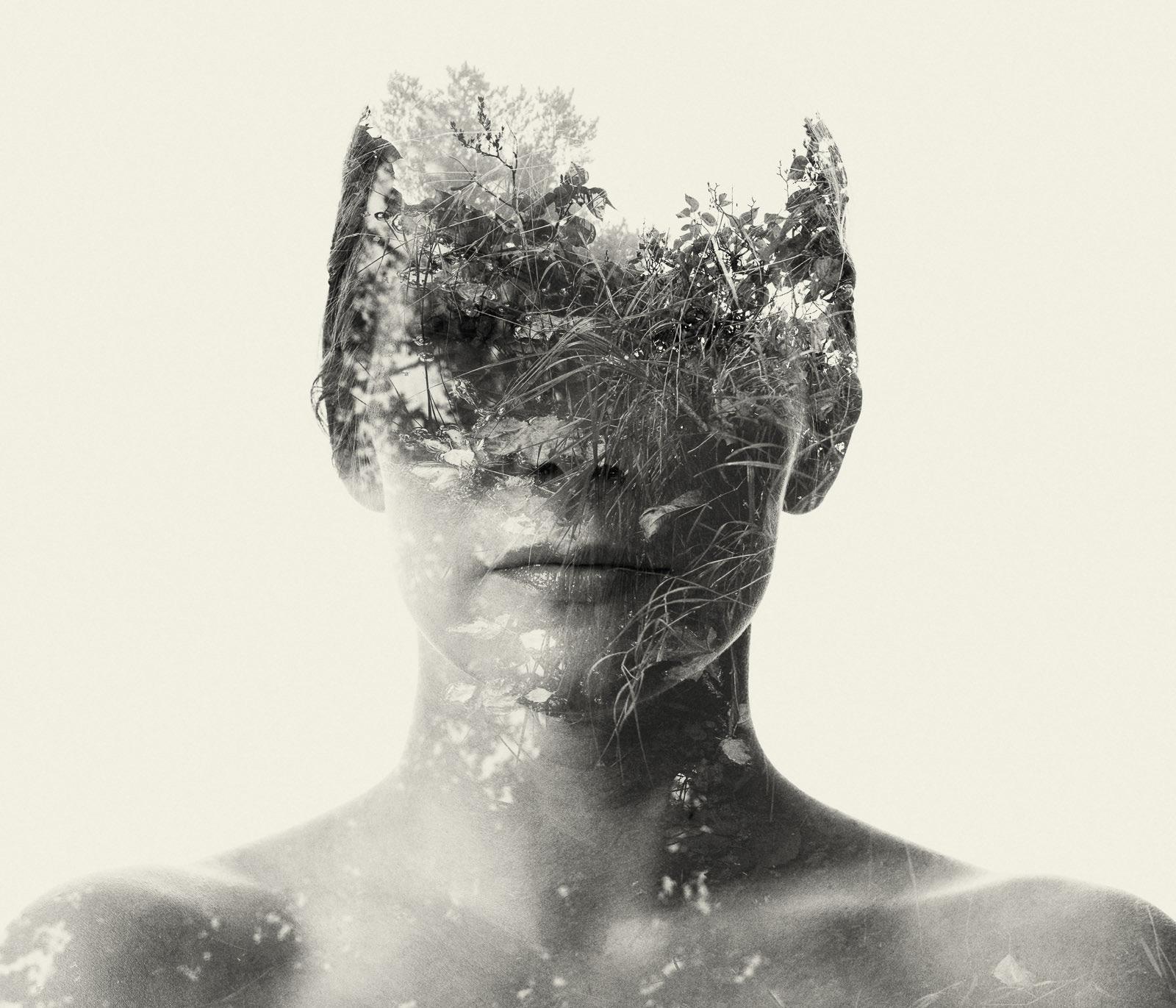 Figuras Humanas Distorcidas pela Natureza