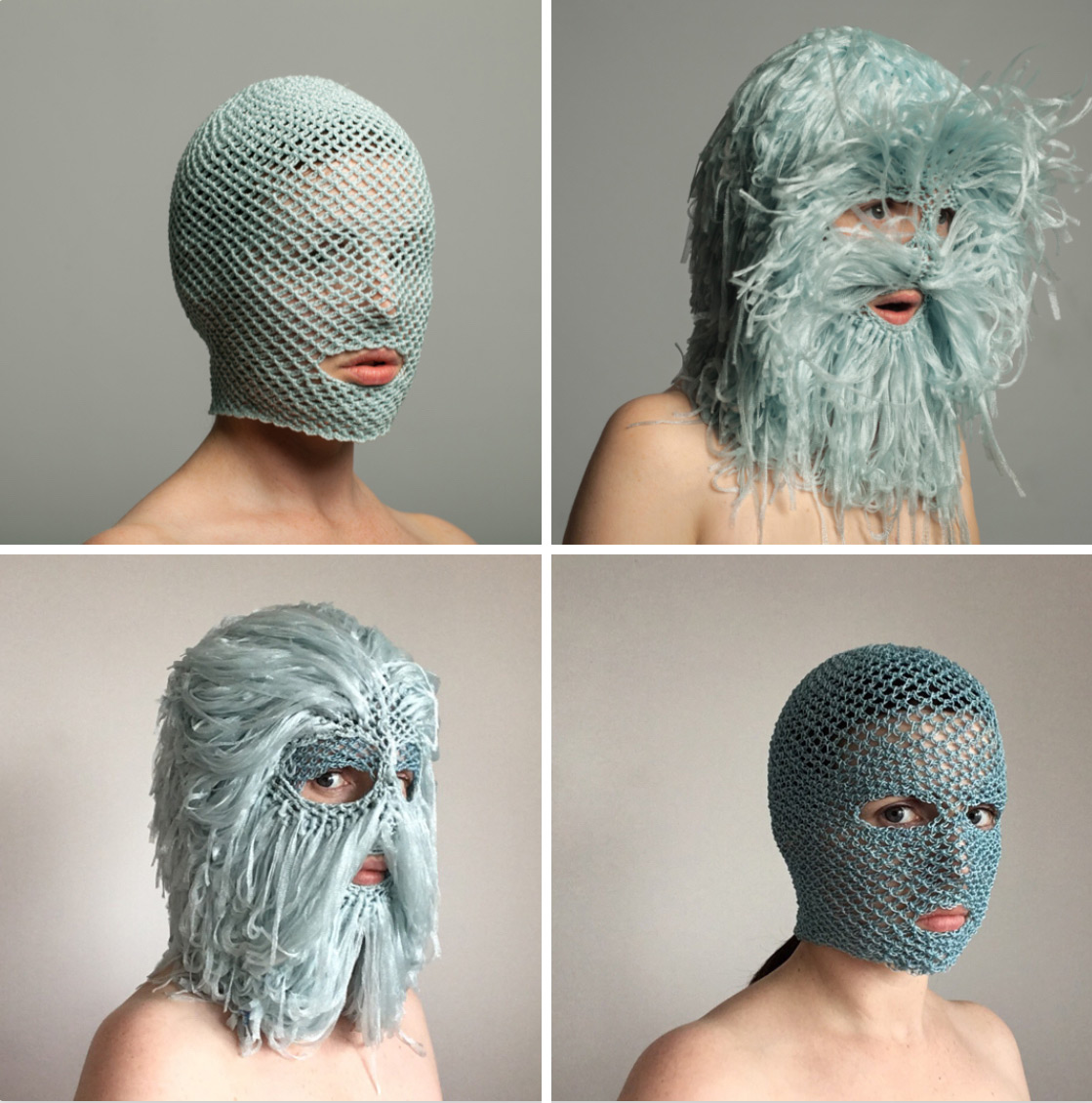 Extravagant Masks by threadstories Offer Cultural Commentary on Selfhood and Social Media