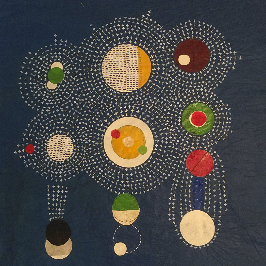 Dots, Dashes, and Lines Form Astronomical Maps Painted by Shane Drinkwater